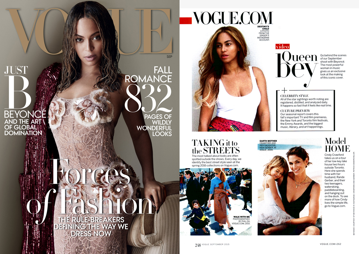 EdgyCuts in Vogue September 2015