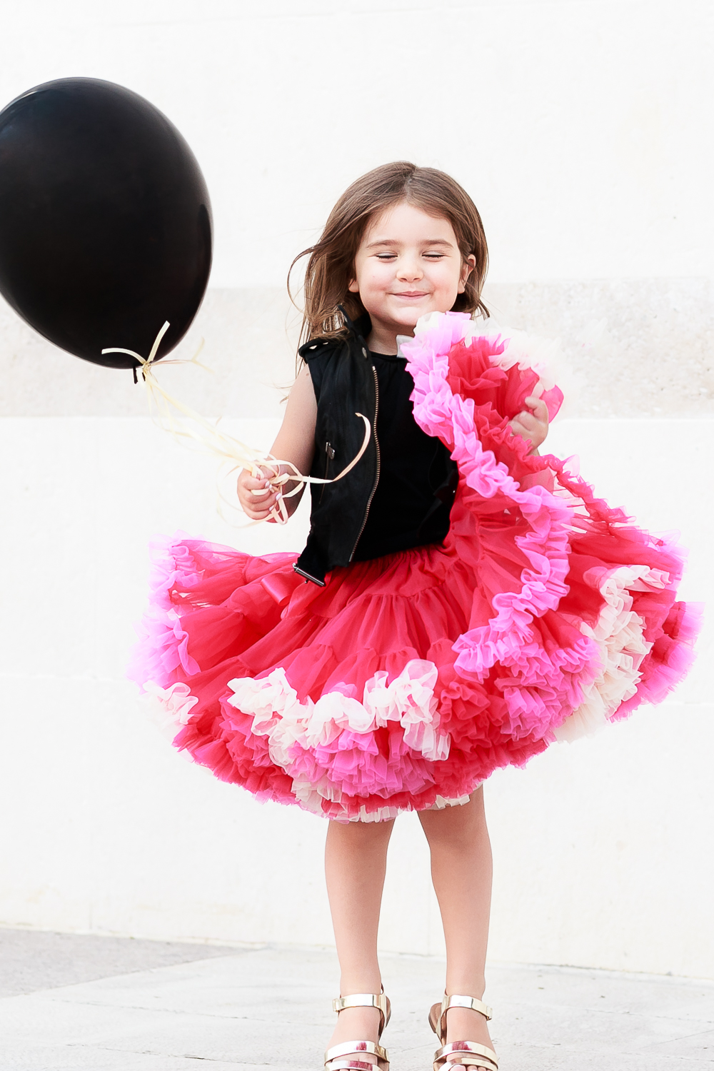 How to Wear Tutu Skirts With an Edge: Can-Can Rock | Kids Style by Miss Kaira | EdgyCuts
