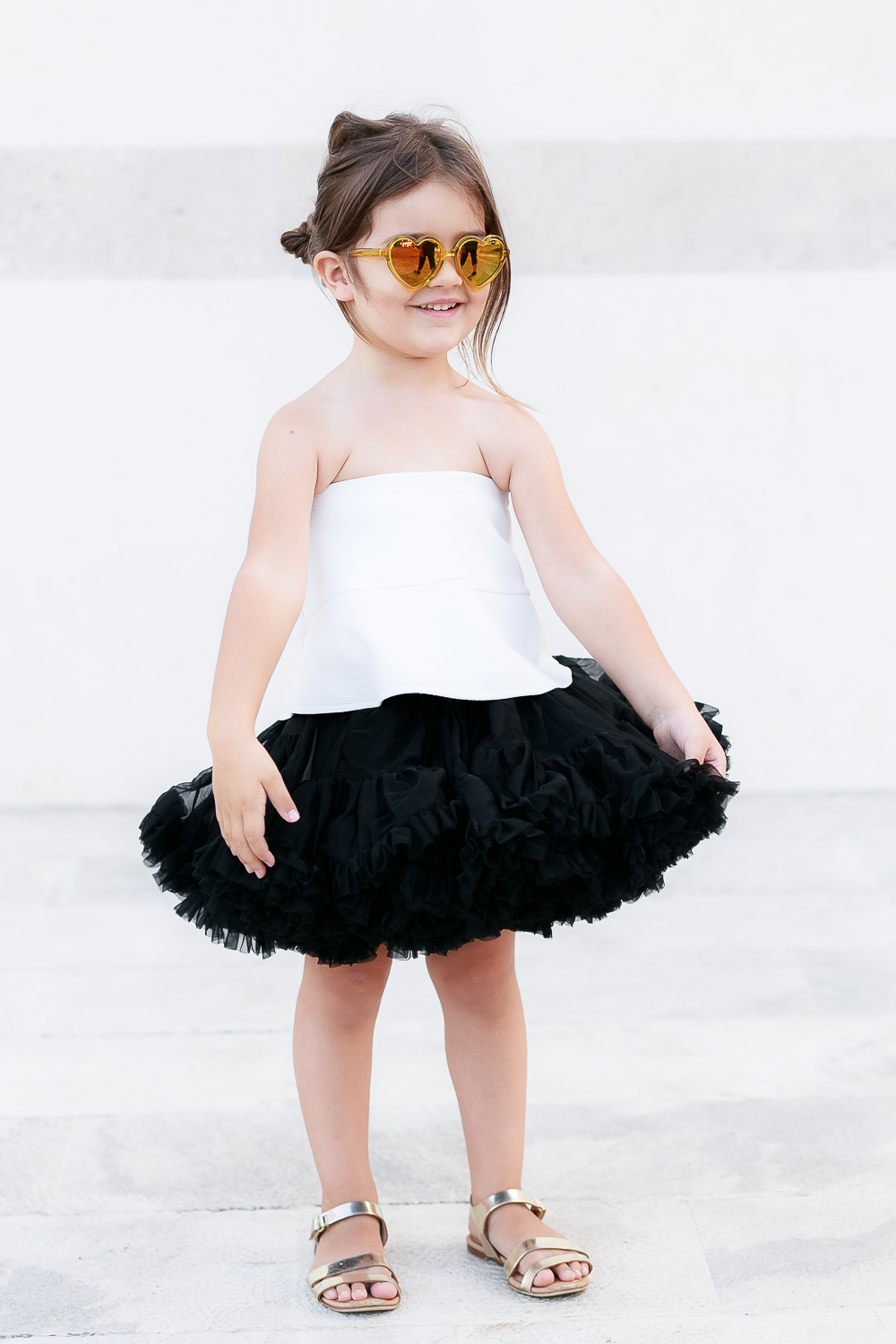 How to Wear Tutu Skirts With an Edge: Lovable Babe | Kids Style by Miss Kaira | EdgyCuts