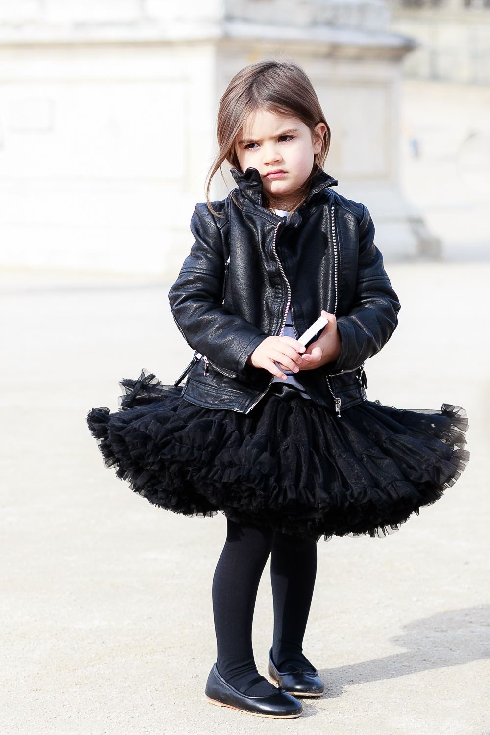 How to Wear Tutu Skirts With an Edge: Parisian Chic | Kids Style by Miss Kaira | EdgyCuts