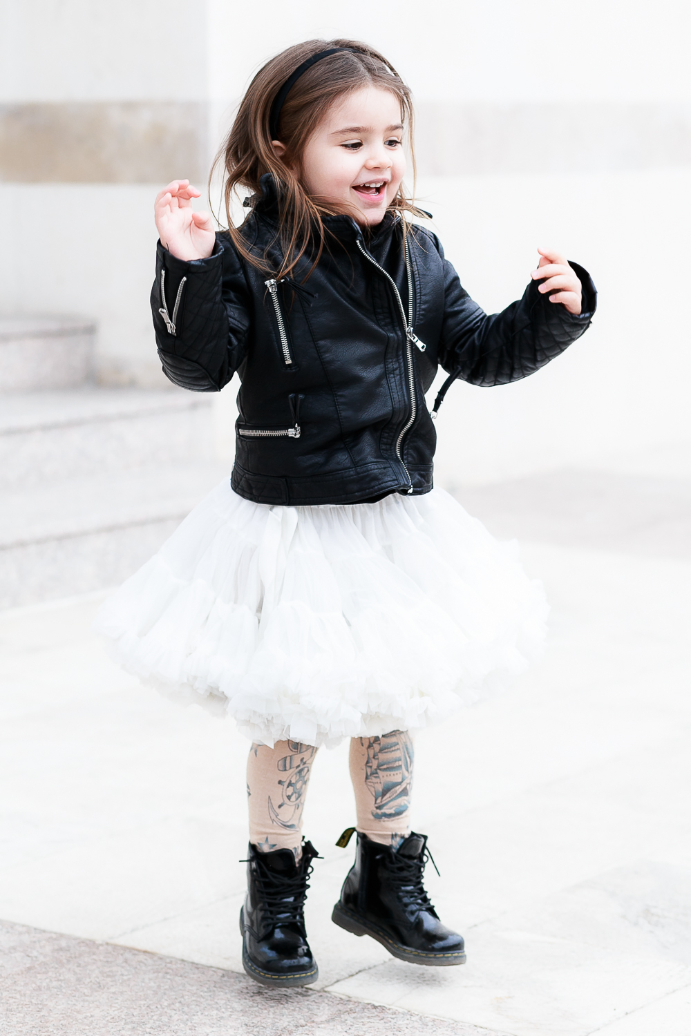 How to Wear Tutu Skirts With an Edge: Rebel Chic | Kids Style by Miss Kaira | EdgyCuts